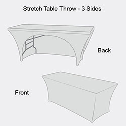 High definition stretch table throw stretch fit table for Html table definition