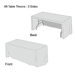 Solid Color Table Throw-6