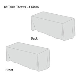 Solid Color Table Throw-7