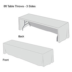 Solid Color Table Throw-9