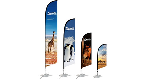 11.5 ft Medium Feather Banner -2