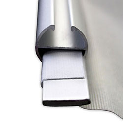 Hanging Banners with Aluminum Rails-9