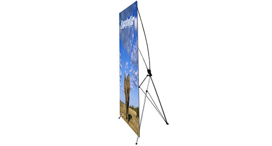 Large X Banner Stand-1