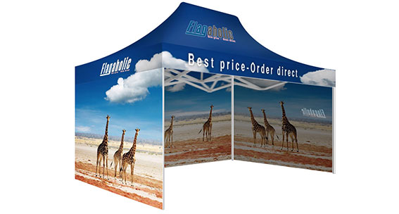 Printed Marquee with Full Walls-1